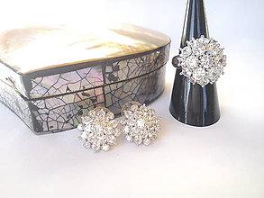 Sady šperkov - Sada šperkov/striebro Ag 925 & krištál - 11363408_