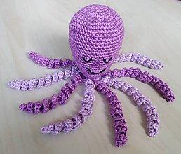 Hračky - Chobotnička fialová - 11364172_
