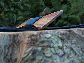 Doplnky - Pánsky drevený motýlik a traky - 11363715_