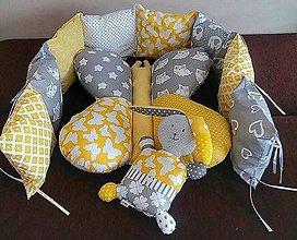 Textil - Vankúšová sada nielen pre bábätko - 11363016_