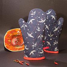 Úžitkový textil - Chňapka - Lastovička - 11363223_
