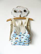 Detské tašky - Ruksačik lietadlá  3-6r. - 11363405_