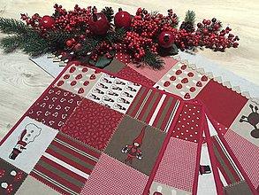Úžitkový textil - prestierky vianočné - 11363865_