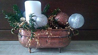 Dekorácie - vianočná dekorácia - VÝPREDAJ (vianočná dekorácia) - 11363826_