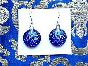 Iné šperky - Náušnice z krištáľovej živice - 11365728_