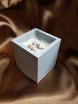 Svietidlá a sviečky - Sójová sviečka Grey - 11365118_