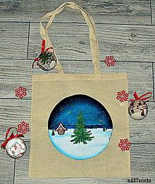Nákupné tašky - Zimná nálada - 11365741_
