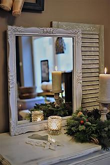 Zrkadlá - Šedomodré blondelové zrkadlo - 11365944_