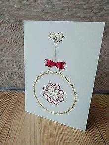 Papiernictvo - Vianočná guľa - 11365736_
