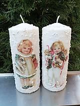 Svietidlá a sviečky - vianoce z dávnych čias 4 - 11364092_