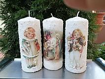 Svietidlá a sviečky - vianoce z dávnych čias 4 - 11364096_