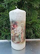 Svietidlá a sviečky - vianoce z dávnych čias 4 - 11364100_