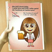 Papiernictvo - Zakladač s návodom na slovné úlohy z matematiky - 11365076_