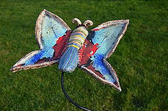Dekorácie - Motýl - 11367143_