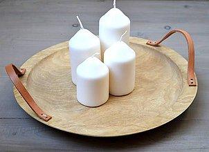 Nádoby - Drevený tanier (tácka) - 11366416_