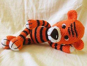 Hračky - Háčkovaný tiger - 11366128_