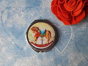 Zrkadielka - Zrkadielko s koníkom - 11367481_