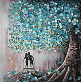 Obrazy - Tyrkysová láska - 11366635_