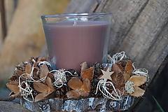 Svietidlá a sviečky - Prírodný svietnik - 11368381_