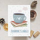 - Vianočná pohľadnica - Pohodové Vianoce - 11367096_