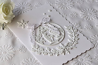 Papiernictvo - Vianočná pohľadnica-Svätá Rodina - 11366109_