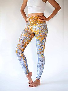 Nohavice - Yoga Leggings FIRST SNOW - 11369271_
