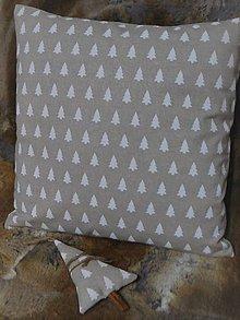 Úžitkový textil - Stromčekový vankúš - 11368632_