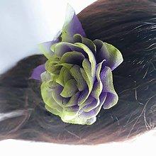 Ozdoby do vlasov - Ruža do vlasov - 11369115_