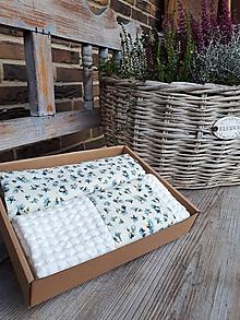 Úžitkový textil - Darčeková sada Cottage White - 11369459_