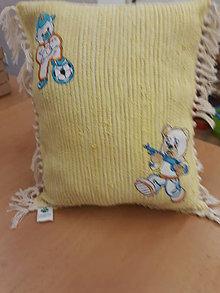 Textil - detský vankúš - 11373567_