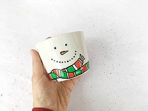 Nádoby - Snehuľo Pam - hrnček na kávu/čaj - 11373806_