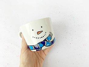 Nádoby - Snehuľo Sam - hrnček na kávu/čaj - 11373813_