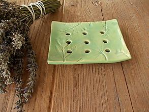 Nádoby - Mydelnička - zelenkavé bylinky - 11373990_
