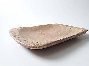 Nádoby - Misa masívna dubová k&m dizajn - 11371011_