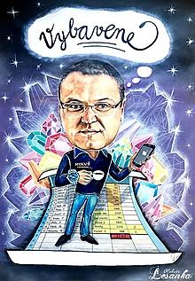 Kresby - Karikaturka na želanie - 11370484_