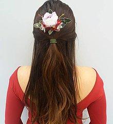 """Ozdoby do vlasov - Kvetinový hrebienok """"Lesná krása"""" - 11372066_"""