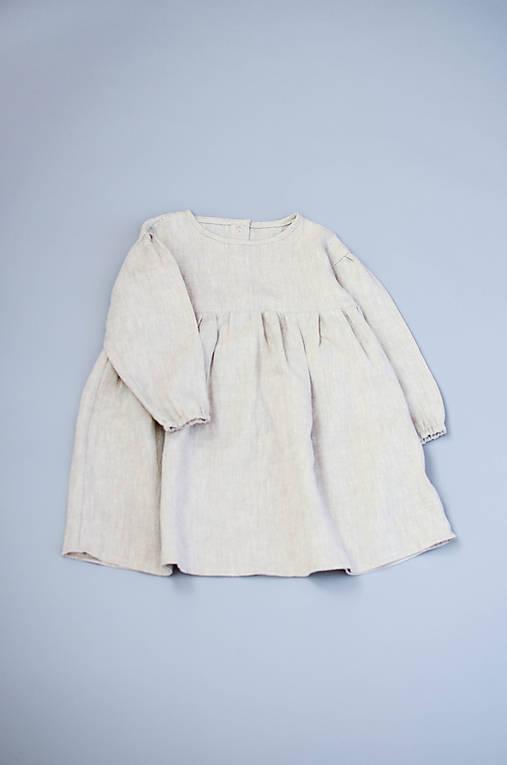 Šaty IDA prírodné