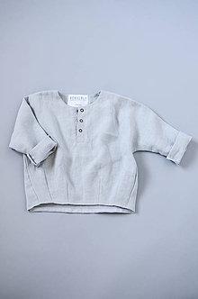Detské oblečenie - Tunika HUGO sivá - 11371136_
