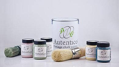 Farby-laky - Kriedové farby Autentico Vintage 500 ml - 11371312_