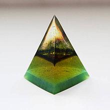 Dekorácie - Ihlan zelenáč - 11372251_