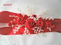Opasky - Kvetinový opasok - 11373157_