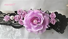 Opasky - Kvetinový opasok - 11373217_