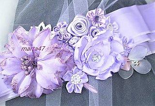Opasky - Kvetinový opasok - 11373131_