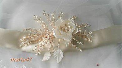 Opasky - Kvetinový opasok - 11373149_