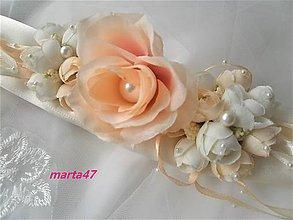 Opasky - Kvetinový opasok - 11373242_