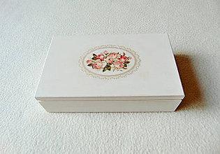 Krabičky - Drevená kazetka - 11372400_