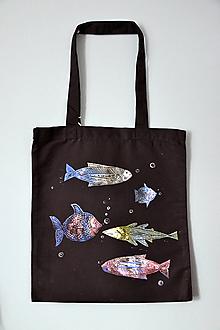 Iné tašky - Taška, ryby, rybky, rybičky, plátená - 11371873_