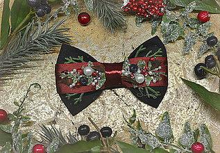 Doplnky - Vianočný motýlik - 11373792_