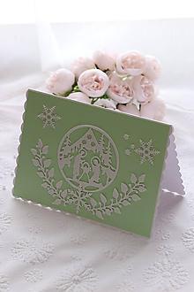 Papiernictvo - Svätá Rodina-Vianočná pohľadnica - 11370617_