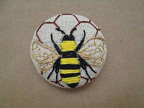 Odznaky/Brošne - Brošňa včela - 11373003_